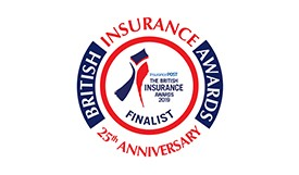 British Insurance Awards logo 2019