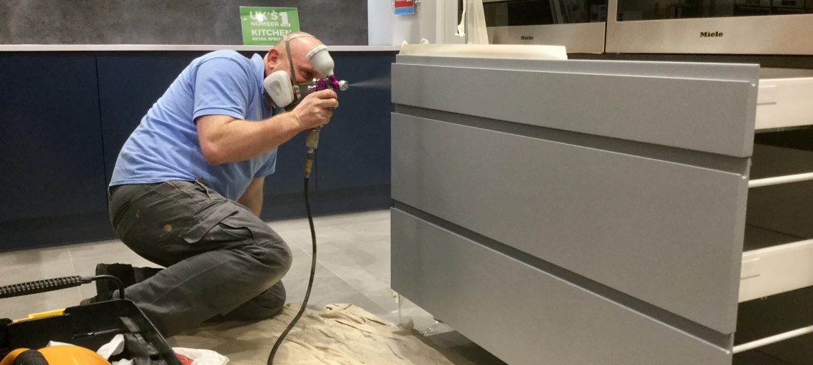 Kitchen cabinet and unit repairs