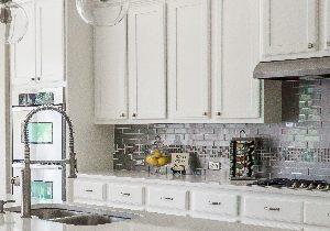 Kitchen cupboard door repairs