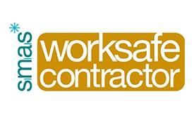 Worksafe contractor logo mark