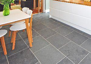 Floor tile repairs