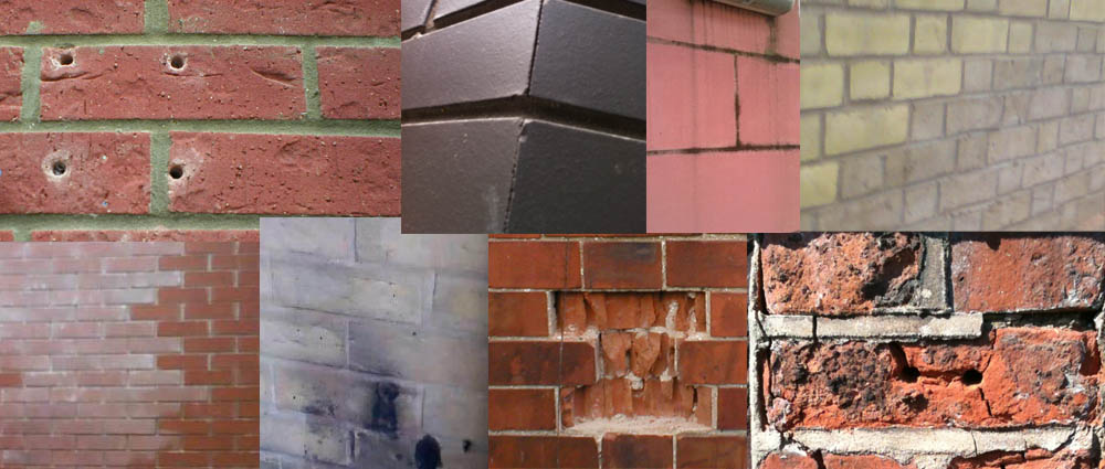 Five solutions for repairing damaged brick