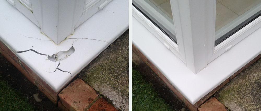 Insurance damage upvc repair