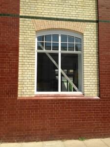 Damaged glazed brick repair project - Plastic Surgeon