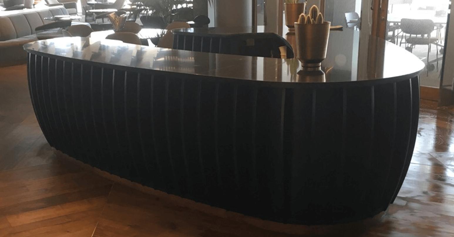 Laminate bar - After repair
