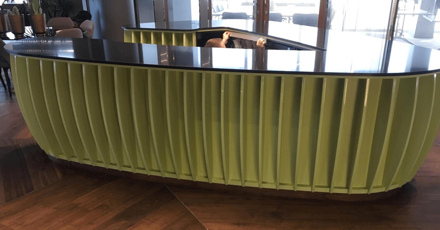 Laminate bar - Before repair