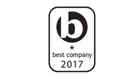Best company award logo 2017