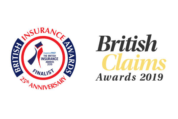 British Insurance Awards and British Claims Awards logos