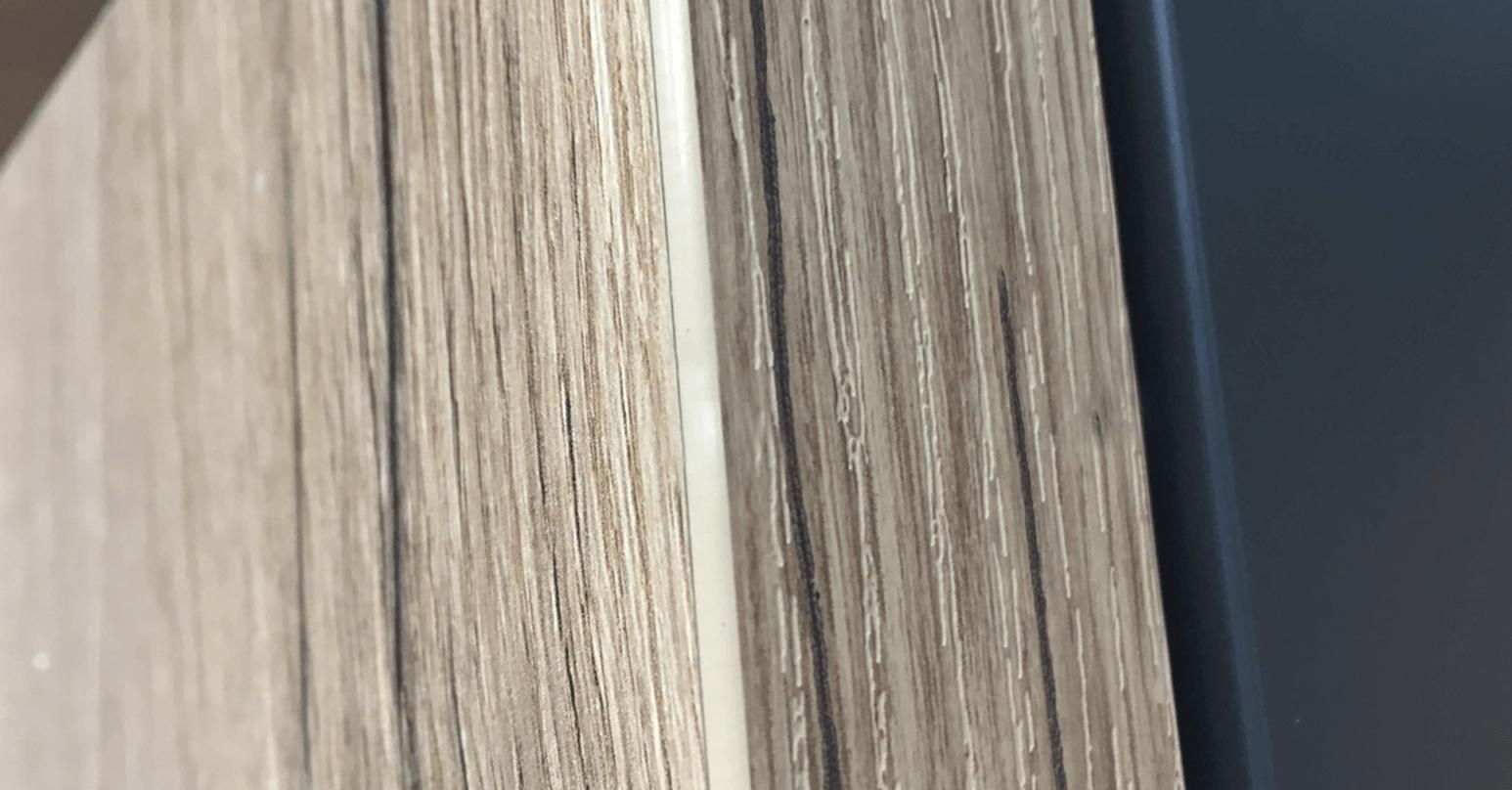 Laminate furniture - After repair