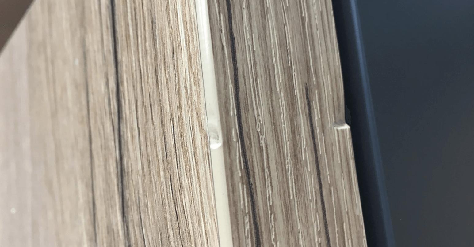 Laminate furniture - Before repair