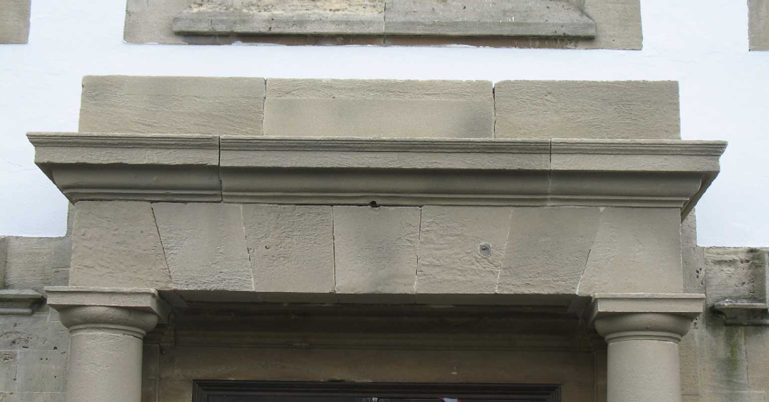 Stone building - After repair
