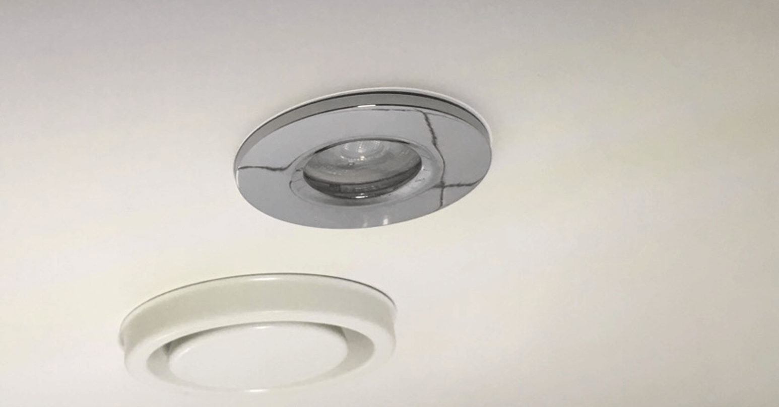 Light panel - After repair
