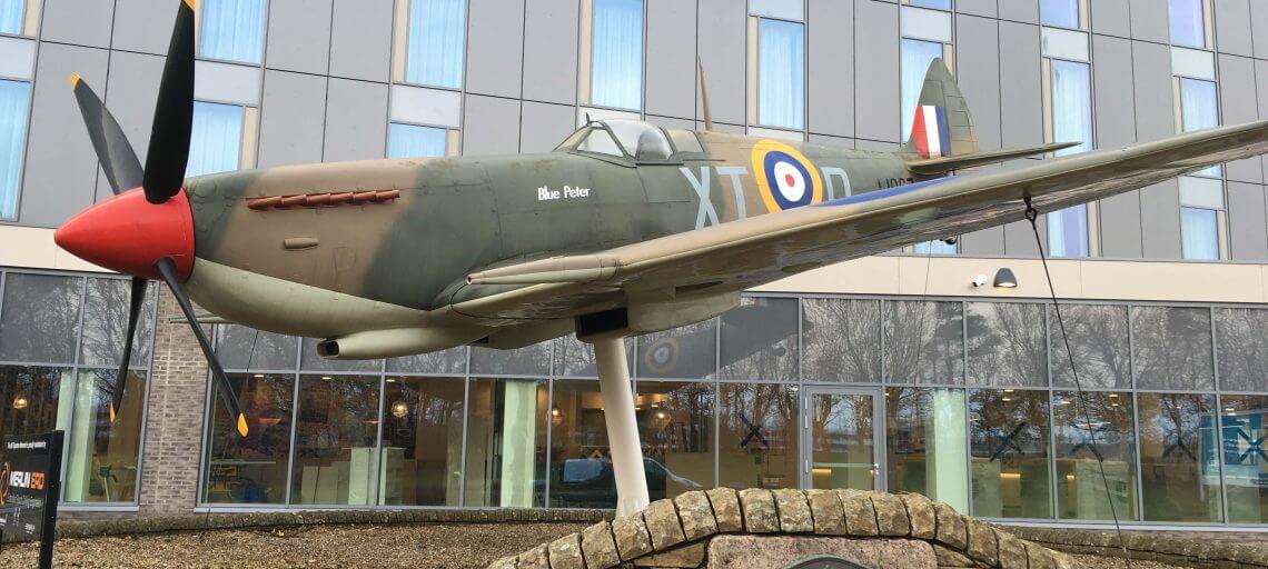 Repair to vintage spitfire in Edinburgh
