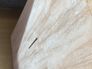 Faded wood furniture