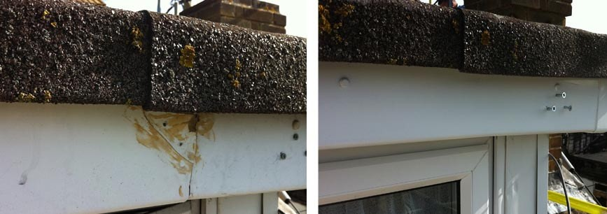Building repair to fire damaged house