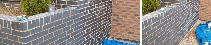 Brick repair and tinting for Martin Boatman Property