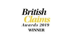 British Claims Awards logo - Outsourced Partner of the Year