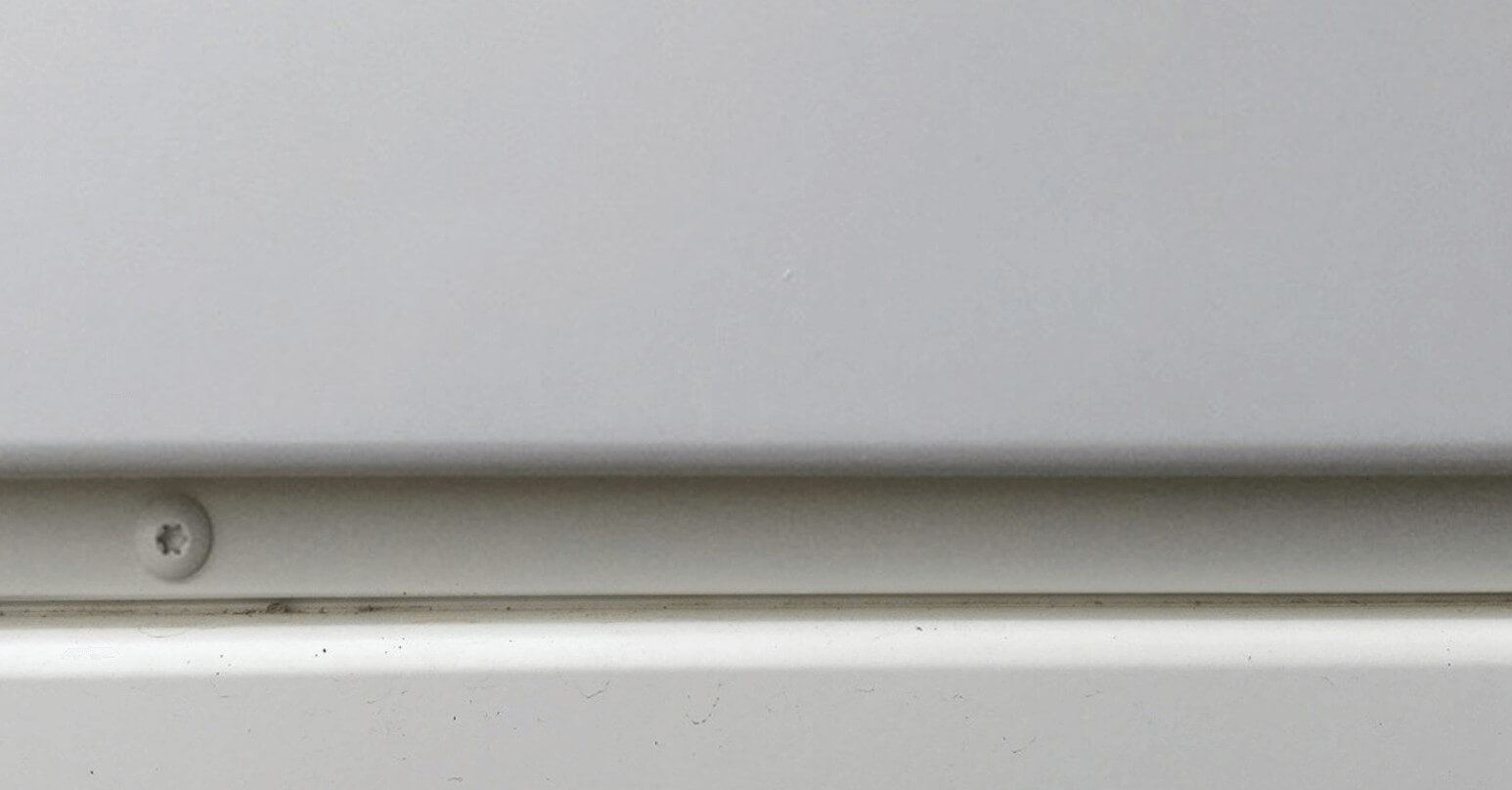 Plastic cladding - After repair