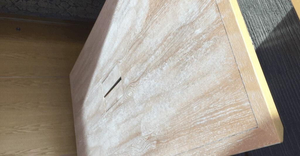 Wood furniture - Before repair